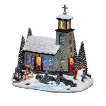 Paysage LED «Eglise»