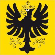 Gemeindefahne Bezirk Oberhasli