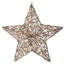 LED Stern «Rattan»