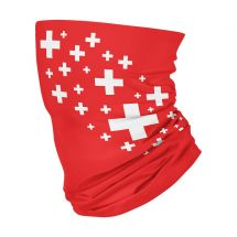 4Fun Foulard multifonctionnel 8 en 1 «Swiss»