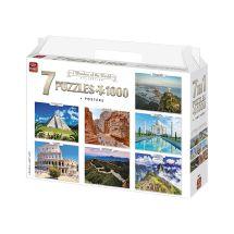 Puzzle «Wunder der Welt 7 in 1»