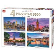 Puzzle «Night 4 in 1»