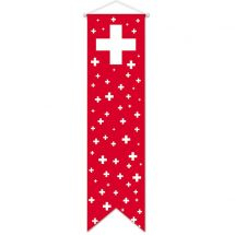 Flagge Schweiz «Celebration» Komplett Superflag® 80x300 cm