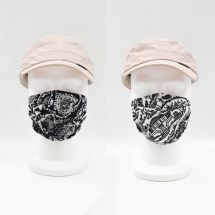 Masques en tissu «Silhouette»