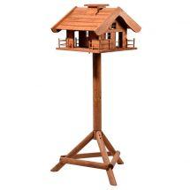 Vogelfutterhaus «Alpenchalet» inkl. Ständer