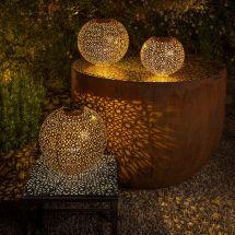 Solar LED Balls «Blume Antik»