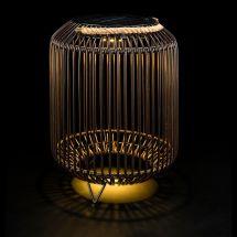 Solar LED Laterne «Lounge», Dark Brown