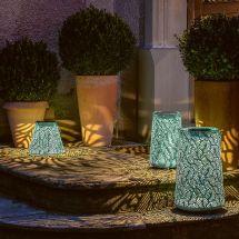 Solar LED Laterne «Leaves»