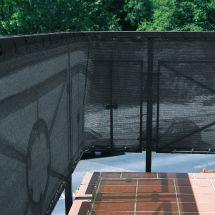 Pare-vue pour clôture anthracite «25 m»