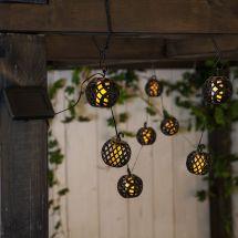 Guirlande lumineuse solaire à LED «Flame»
