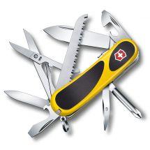 Victorinox Couteau de poche «Evolution Grip 18» jaune