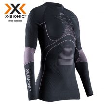 Thermo-Shirt «Energy Accumulator 4.0», charcoal-magnolia