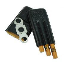 Zigarren Leder-Etui