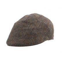 Herren-Flatcap «Harris Tweed»