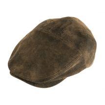 Casquette plate pour homme «Coton»