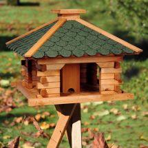 Vogelfutterhaus «Quadra XL», inkl. Dreibeinständer