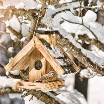 Silo à nourriture pour oiseaux «Villa»