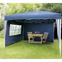 Garten-Pavillon «Easy-Up» 3×3 m, blau