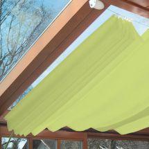 Sonnensegel Pergola-Komplett-Set «Apfelgrün», 270×140 cm