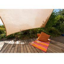 Quadrat-Sonnensegel Parasol «beige»