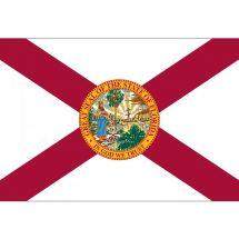 Fahne Bundesstaat Florida USA