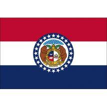 Fahne Bundesstaat Missouri USA