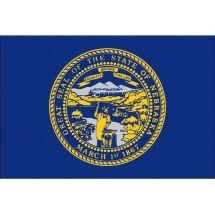 Fahne Bundesstaat Nebraska  USA