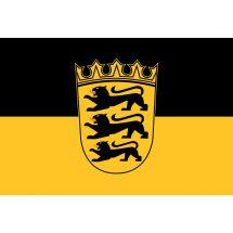 Fahne Bundesland Baden-Württemberg Deutschland