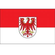 Fahne Bundesland Brandenburg Deutschland