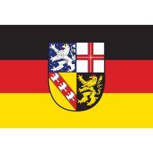 Fahne Bundesland Saarland Deutschland