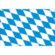 Fahne Bundesland Bayern Deutschland