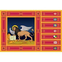 Fahne Region Venetien Italien