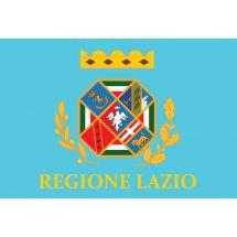 Fahne Region Latium Italien