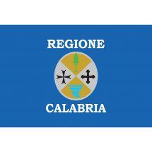 Fahne Region Kalabrien Italien