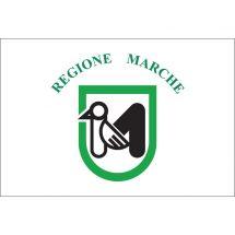 Fahne Region Marken Italien
