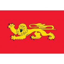 Fahne Region Aquitaine Frankreich