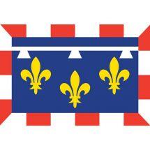 Fahne Region Centre Frankreich