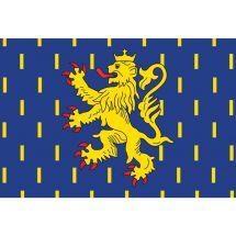 Fahne Region Franche-Comté Frankreich