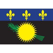 Fahne Gebiet Guadeloupe Frankreich