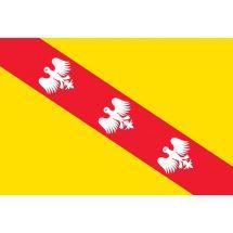 Fahne Region Lothringen Frankreich