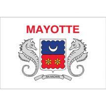 Fahne Gebiet Mayotte Frankreich