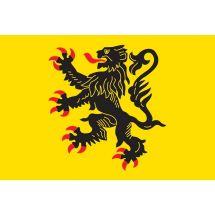 Fahne Region Nord-Pas-de-Calais Frankreich