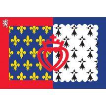 Fahne Region Pays de la Loire Frankreich