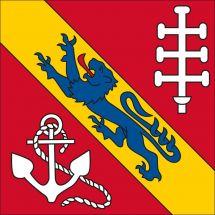 Gemeindefahne 1695 Estavayer-le-Gibloux