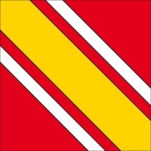 Gemeindefahne 1681 Billens