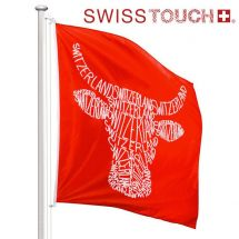 Swisstouch Fahne «Cow» Superflag® 150x150 cm