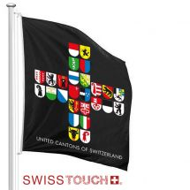 Swisstouch Fahne «United» Superflag® 150x150 cm