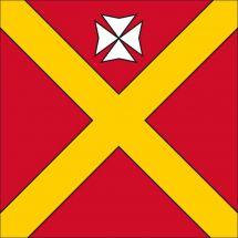 Gemeindefahne 1727 Magnedens