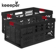 Profi-Klappboxen mit Softgriff, 2er Set