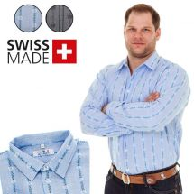 Chemise Edelweiss homme avec col standard